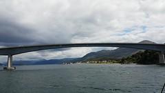 Passing beneath the Skye Bridge