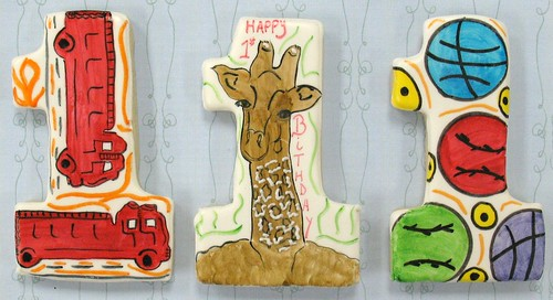 [Image from Flickr]:Assorted Birthday Cookies
