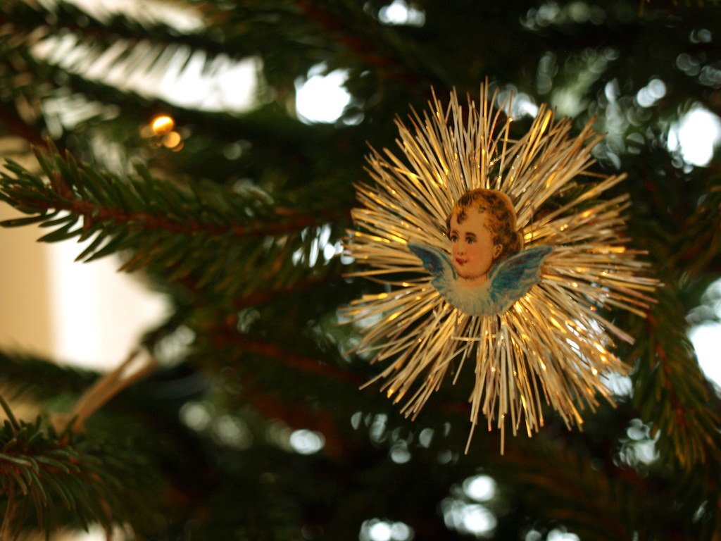 Vintage christmas tree decoration