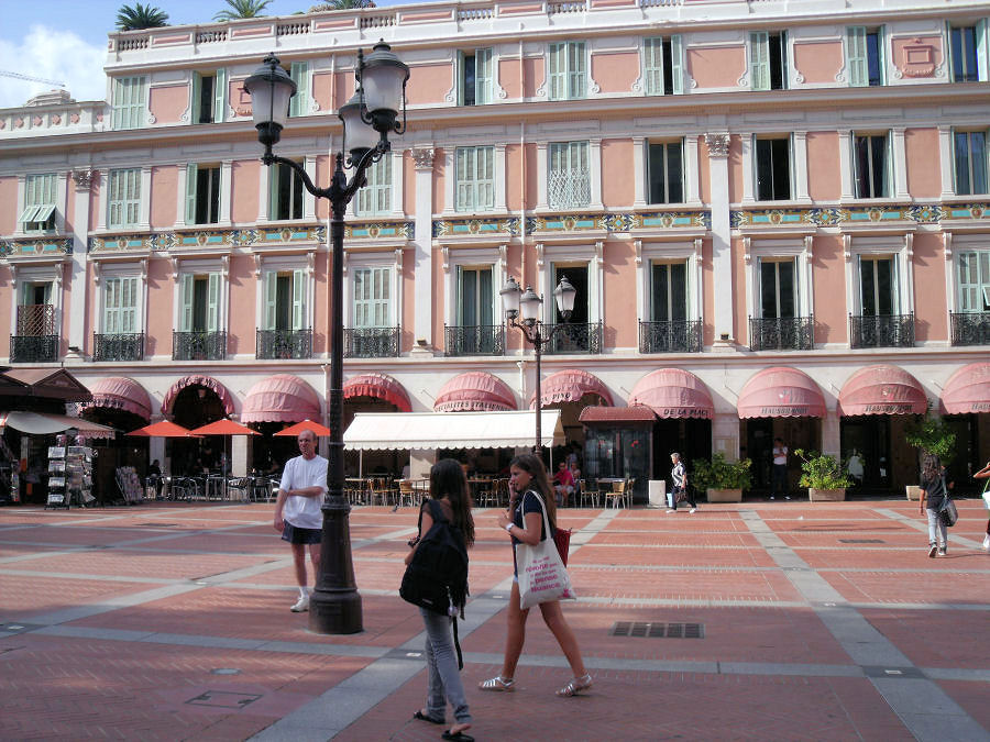 Monaco square
