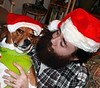The Debriefing: #Flickr12Days (faith goble) Tags: santa dog art beagle artist photographer kentucky ky faith larry creativecommons poet writer bowlinggreen goble faithgoble patrickgoble gographix heritage2011 faithgobleart flickr12days