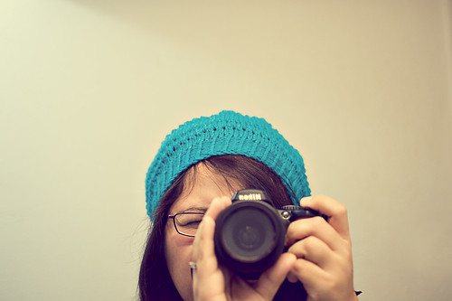 "365.364: the supposed ""too teal"" beret"