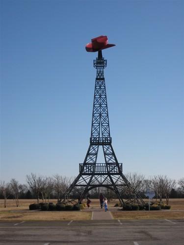 Eiffel Tower Paris TX.JPG