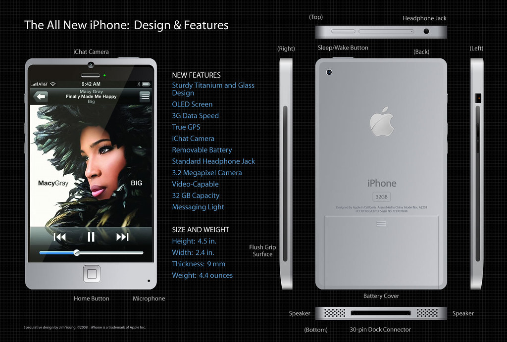Titanium iPhone Concept Design