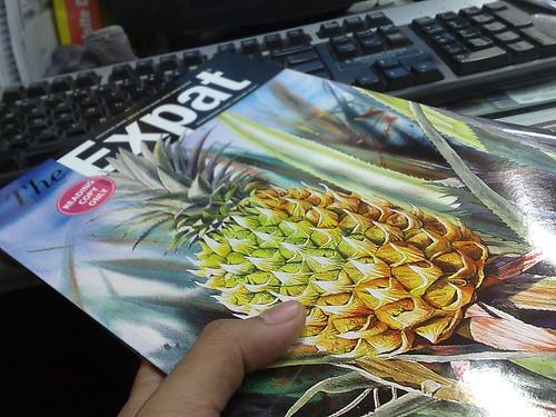 Majalah Expat keluaran Januari 2010 dah keluar.