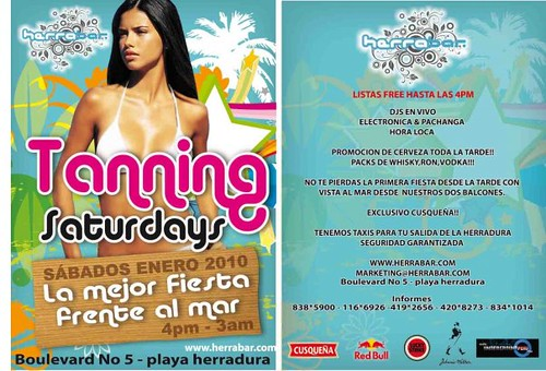 Tanning Saturdays - Herrabar