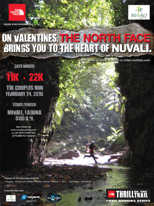 TNF Thrill of the Trail Race Results