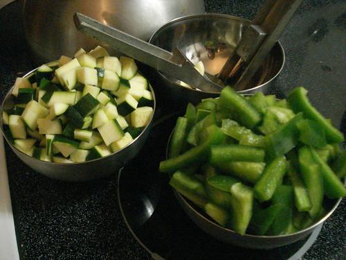 ZucchiniGarlicPeppers