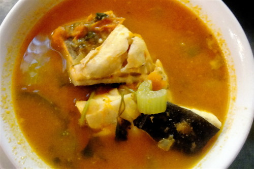 sea bass soup