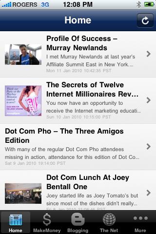 John Chow iPhone App