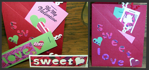 Valentine Pocket Card with Bookmarks