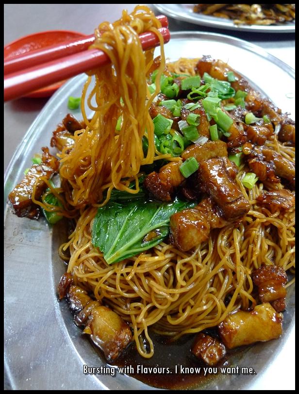 Roast Pork Noodles @ Wong Ah Wah