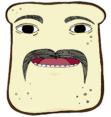Loaf man colour