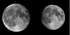 Apogeo  y perigeo de la Luna
