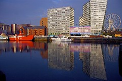 REFLECTIONS ............. ALBERT DOCK LIVERPOOL (ONETERRY. AKA TERRY KEARNEY) Tags: street city flowers people urban heritage museum liverpool docks canon buildings river boats flickr cops wildlife ships transport culture cathedrals police explore roads mersey albertdock grade1 merseyside oneterry touraroundtheworld flickraward5 mygearandmepremium lisedgrade1