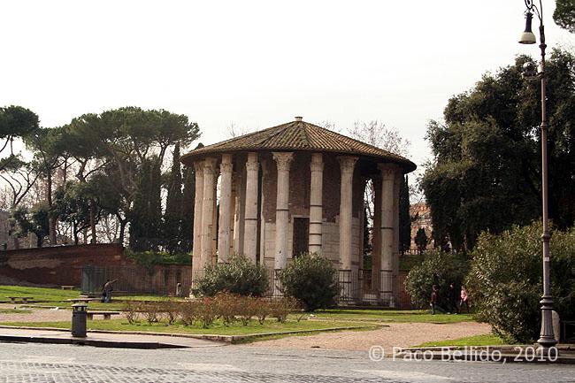 Templo de Hércules Víctor. © Paco Bellido, 2010