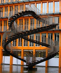 Crazy staircase at the KPMG Building in Munich