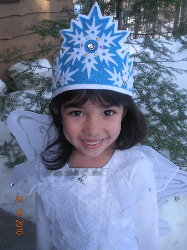 Felt Snowflake Crown