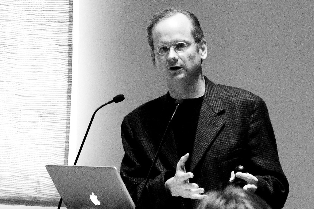 Lawrence Lessig in Amsterdam
