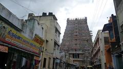 Meenakshi Over Madurai