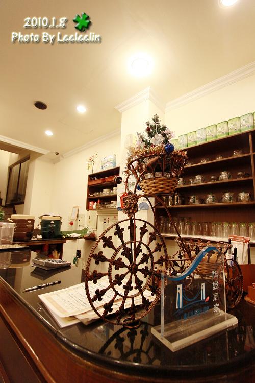 谷岸茶居餐館|擁廬山吊橋美景