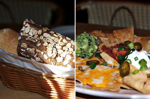 pumpernickel and nachos