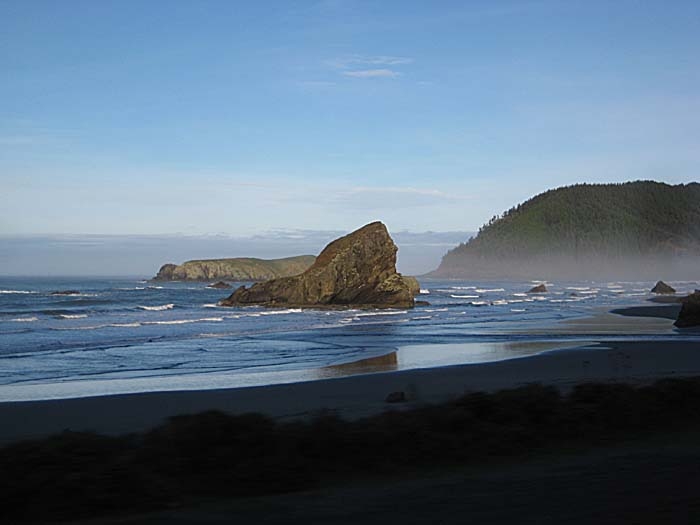 January Oregon Coast
