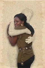 Embraced by Words (Robbert van der Steeg) Tags: woman art love lady paper word idea blog words text literature concept embrace soe scroll robbert blueribbonwinner supershot mywinners abigfave platinumphoto anawesomeshot impressedbeauty robbertvandersteeg vandersteeg rvandersteegnl
