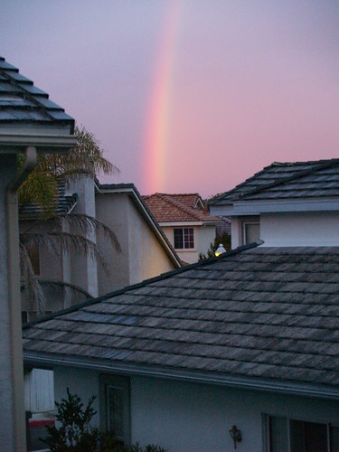 My house at the end of the rainbow