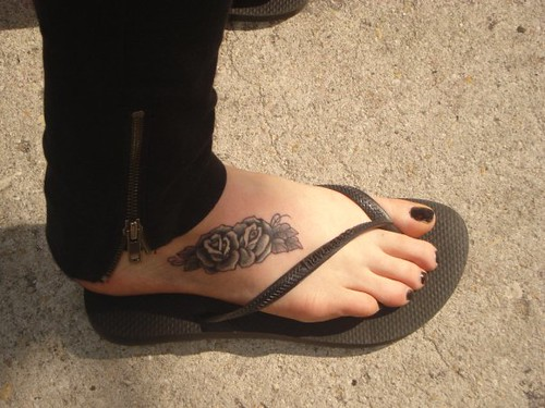 Without question, ankle and foot tattoos are a trendy choice among women