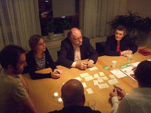 Huiskamerbijeenkomst D66 Amsterdam