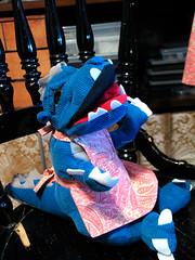 Apron for baby Godzilla