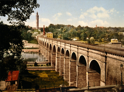 High Bridge, New York City, 1900