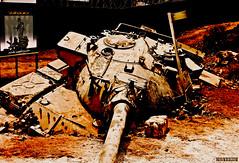 Big Mistake (Fotografy86) Tags: lebanon sony cybershot 2006 لبنان h9 july2006 تموز israelitank julywar dsch9 حربتموز المستنقعاللبناني الوحلاللبناني