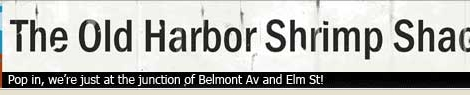 Screen Shot of The Old Harbor Shrimp Shack Advert