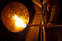 Fire and Drums (Lars Leganger) Tags: winter snow leather vinter drum mythology snø sn nrk norse kalvøya blot kalv sn¿ kalv¿ya d300s satru åsatru vinterblot blót