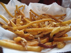 Hand Cut Fries at Coal Fire