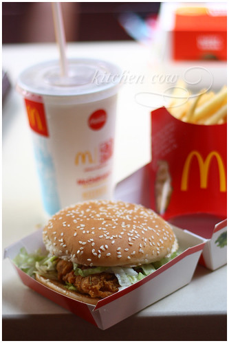 McDonalds Crispy Chicken Sandwich