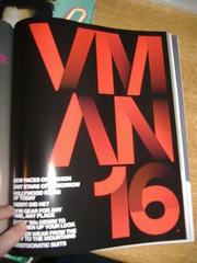 VMan (matthewgrocott) Tags: magazine typography