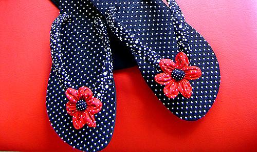 fotos de chinelos personalizados