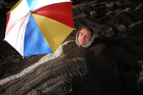 Me in sandbath