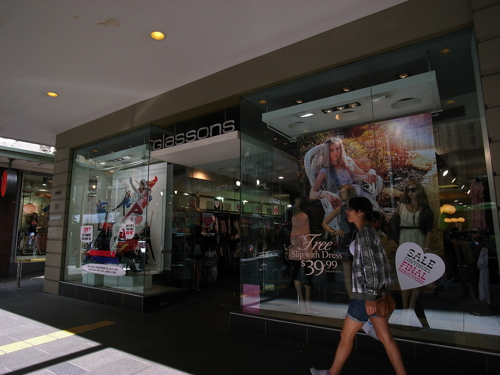 Glassons, lots of funny and cheap stuff here, I spent a lot!
