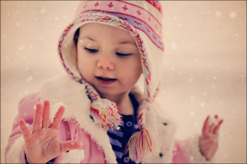 babygirl ~ vintage snow