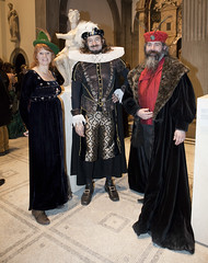 Renaissance Ball at the V&A, Friday 29th January 2010. Photograph by Peter Kelleher.