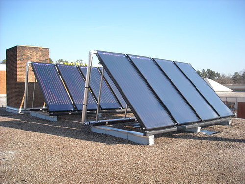 Carrington Middle School - Solar Hot Water