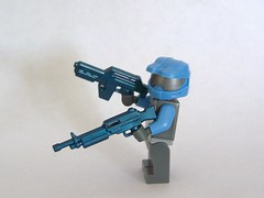 Cobalt Xeno Pulse Rifle and Combat LMG (The Skull Bandit) Tags: brick art apple movie for tv call arms lego duty ghost engine halo artsy will prototype microsoft amelia trans build cod nerf trade bionicle proto prototypes chapman protos mw2 brickarms mw1