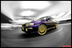 subaru impreza marina rig 2010 (AUSTIN_O) Tags: motion blur lines canon drag rat brighton long dirty motionblur rig subaru whip 5d bbs lowered dropped scooby drifting 30d ratty brightonmarina 50d rollingshot ratlook rigshot autorig driftslag itsallwoodcouk itsallwood tigshot autorigshot