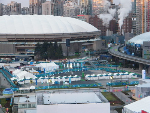 Ticket tents ready