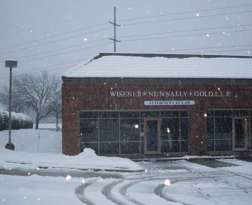 Wisener*Nunnally*Gold, LLP on a snow day 2