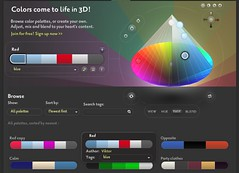 Colorate - Photoshop plugin and web tool - 3D Color picker